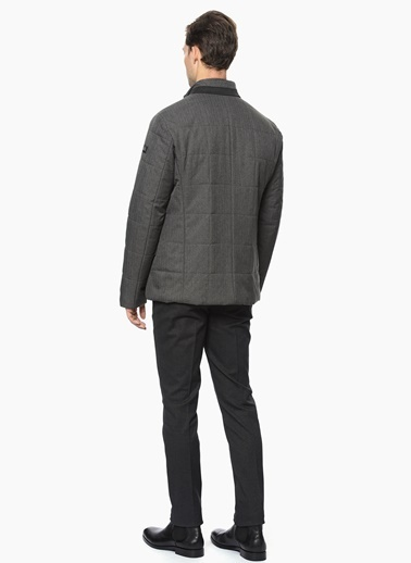 George Hogg Slim Fit Casual Kaban Gri